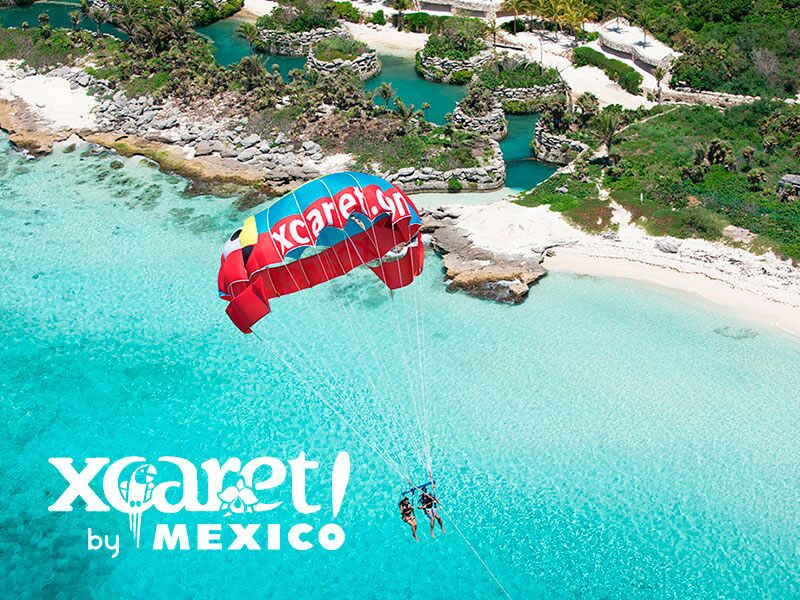 Paraxute Caribe Xcaret