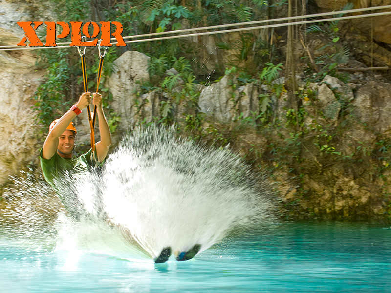 Xplor Landing On Water